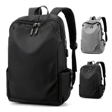 Fashion Men Backpack Casual Bolso Hombre Multifunctional Lightweight Travel Bag Schoolbag Large Capacity Anti Theft Laptop Bag
