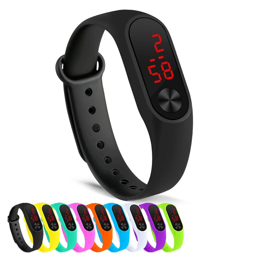 Simple women watch Hand Ring Watch Led Sports Fashion Electronic Watch Reloj deportivo para mujer dropshipping 2019 men watches(China)