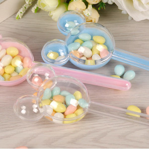Image 4 - 24pcs/lot  Chocolate Candy Box packaging Baby Shower candy box plastic Wedding Kids Birthday party Candy gift boxes