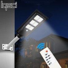 Ultra grande lumière solaire 80w 120w PIR capteur de mouvement mur de jardin extérieur solaire lampadaire lampe étanche Smart télécommande lampe