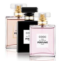 Стеклянный флакон 50 мл, Женский спрей, ароматизатор, Дамский парфюм, стойкий аромат лилии, лимона для женщин, Парфюмированная вода, против за...