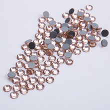 All Sizes Honey Peach Hot Fix Rhinestone Austrian Hotfix Rhinestones For Wedding Dress