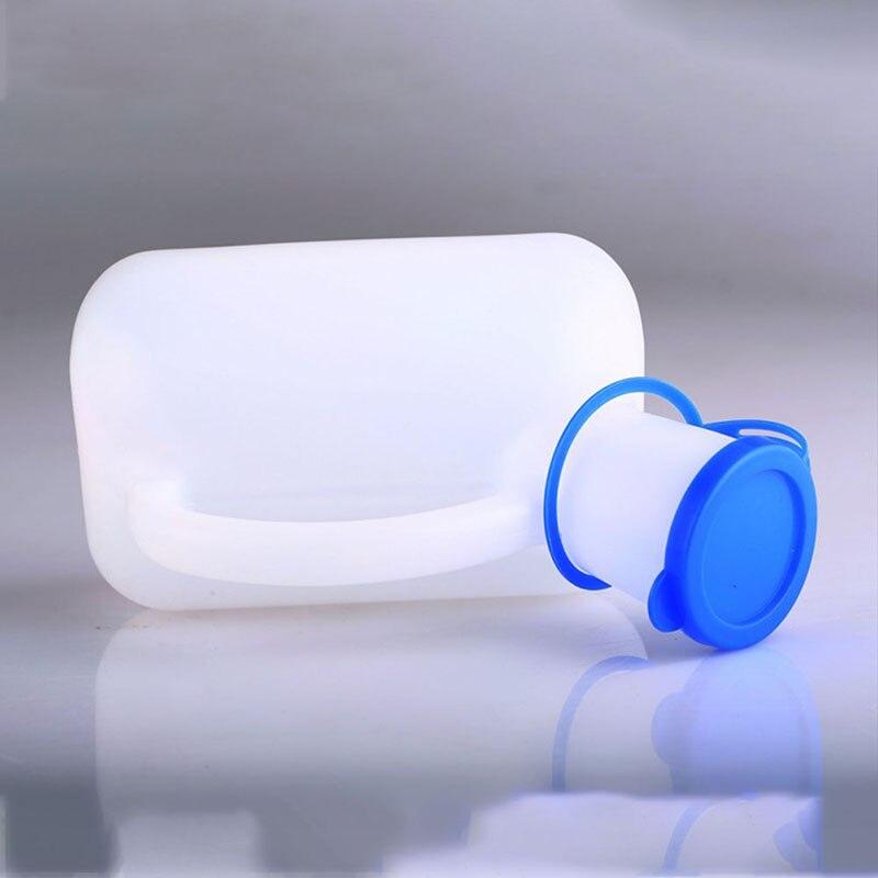 Горячий белый 1000 мл Мужской писсуар помощь бутылки устойчивость к разливам портативный пластиковый бутылка-мочеприемник Кемпинг срочный туалет Открытый Инструменты