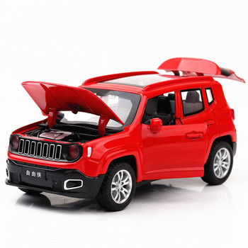 1:32 Toy Car for Jeep Renegad Metal Toy Alloy Car Diecasts & Toy Vehicles Car Model Miniature Scale Model Car Toy for Children