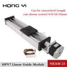 Envío Gratis NEMA23 HPV7 Openbuilds C-Haz actuador lineal eje Z t8 paso de tornillo de plomo/2/4/8/12mm 2.8A motor paso a paso