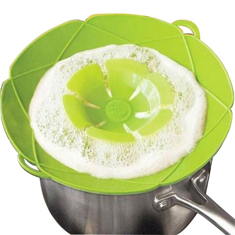 Силиконовая крышка с крышкой, крышка для кастрюли, сковорода, кухонные принадлежности, инструменты для приготовления пищи, Цветочная посуда, посуда