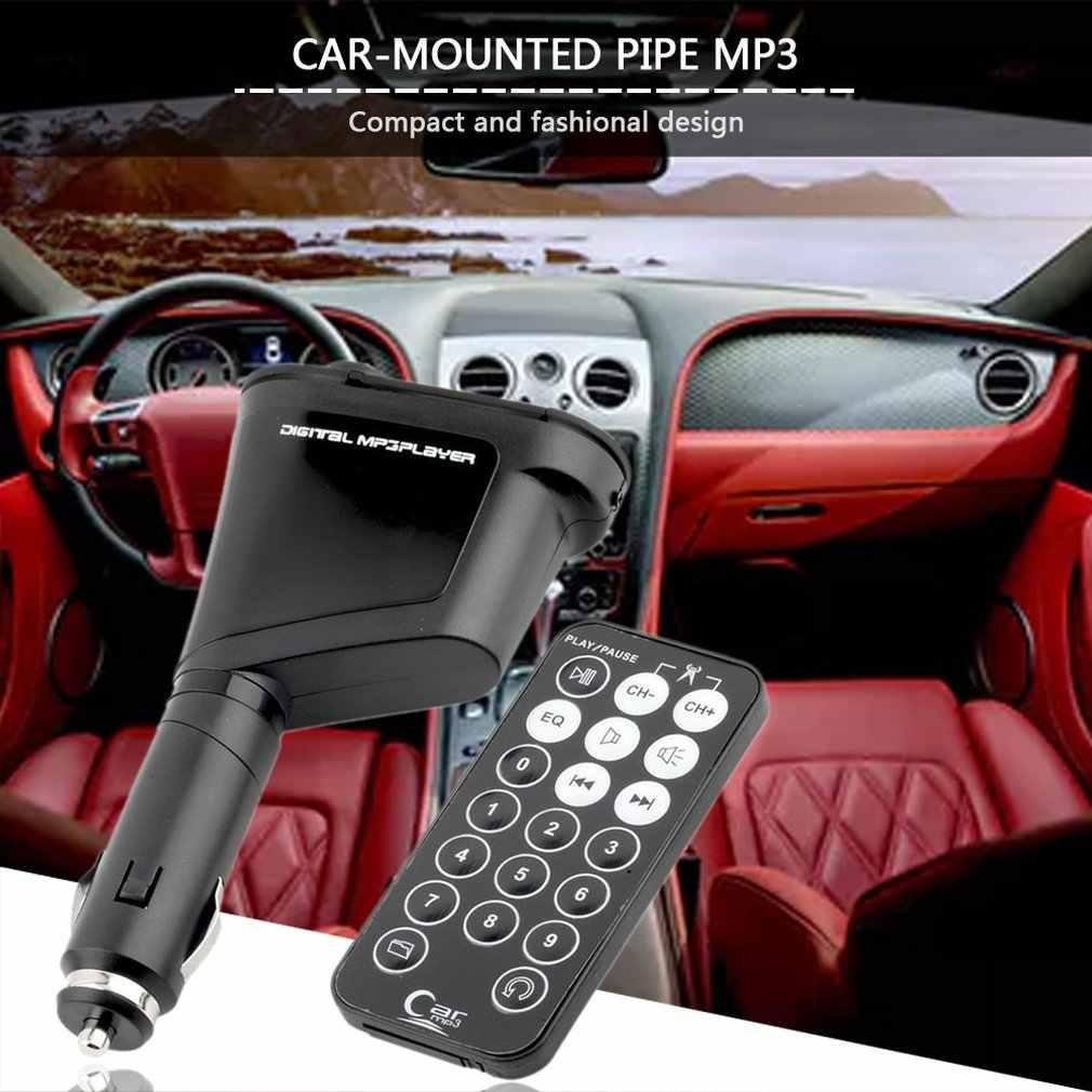 طقم سيارة MP3 مشغل موسيقى لاسلكي FM جهاز إرسال لاسلكي المغير مع USB MMC + التحكم عن بعد رائجة البيع