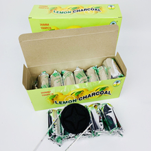 Shisha-Hookah Charcoal Ash-Chicha Flavored Quick-Lighting Burn Lemon Less Lasting Even