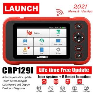 Image 1 - เปิดตัว X431 CRP129i รถการวินิจฉัยเครื่องมือเครื่องยนต์ ABS เกียร์ถุงลมนิรภัยสแกนเครื่องมือ SAS รีเซ็ตน้ำมัน5บริการฟังก์ชั่น OBD2 Scanner