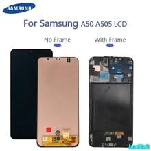 Originale di 100% Per Super Amoled Per Samsung Galaxy A50 SM A505FN/DS A505F/DS A505 Display LCD Touch Screen digitizer Assembly