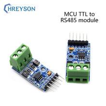 1 pces 485 à conversão mutual do ievel de uart do porto serial mcu ttl para rs485 módulo automático de dois sentidos rs485t controle de fluxo automático