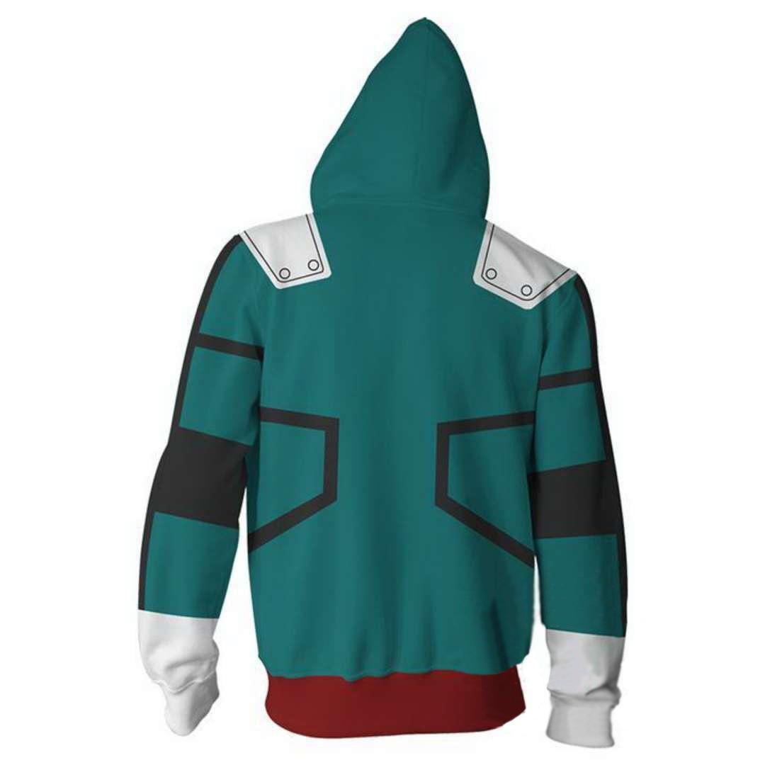 My Hero Academia Hoodie Izuku Midoriya Shouto Todoroki Costume Cosplay Jacket