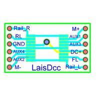 LaisDcc 860031 Next18 NEM662 adaptör panosu 18Pin to teller/LaisDcc marka|RC Trenler|   -