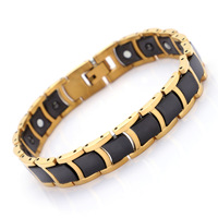AliExpress Hot Selling Healthy Magnet Bracelets Ceramic Ornament Korean style Men's Women's Hand Jewelry Tc19