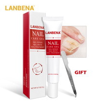 LANBENA Nail Repair gel Treatment Fungal Serum Brighten Hand Foot Effective Remove Onychomycosis Toe Nourishing  Skin Care