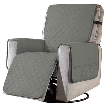 Removable Towel Recliner Cover With Pockets 3 Chair And Sofa Covers