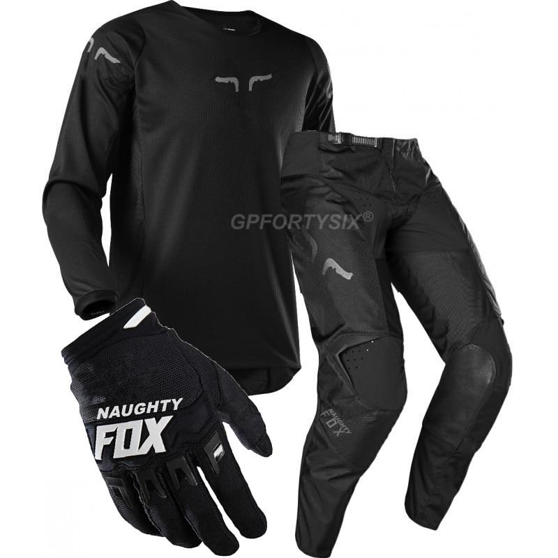 360 Kila DH vtt Moto équipement de course saleté vélo cyclisme maillot MX pantalon gants équitation ensembles Motocross costumes Moto Combos vêtements - 6