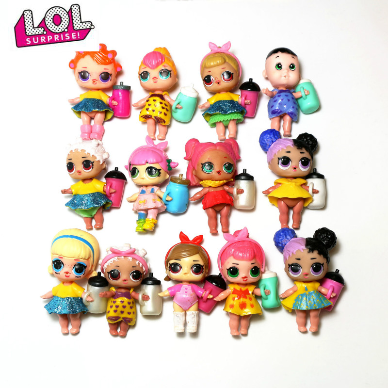 10cm L.O.L.SURPRISE! Original Lol Dolls Toys Surprise Lol Dolls Generation DIY Manual Blind Box Girls Toys For Children