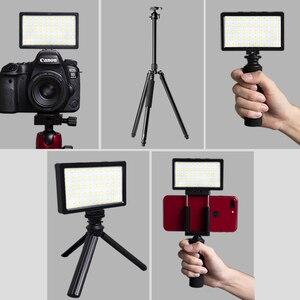 Image 4 - 50 Kralen Mini Rgb Led Video Light On Camera Licht Ingebouwde Batterij Voor Nikon Canon Sony Dslr smartphone Vlog Licht Invullen