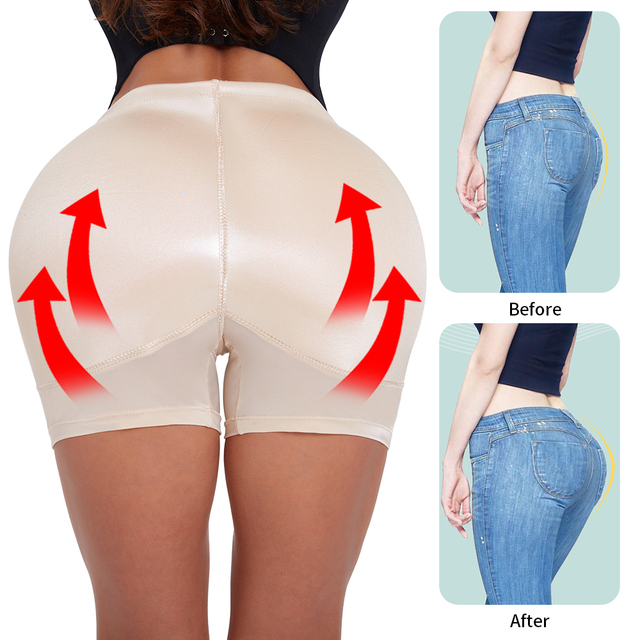 Butt lifter Shapers women  butt Waist trainer body shaper shapewear Shaping Panties butt pads Slimming Underwear