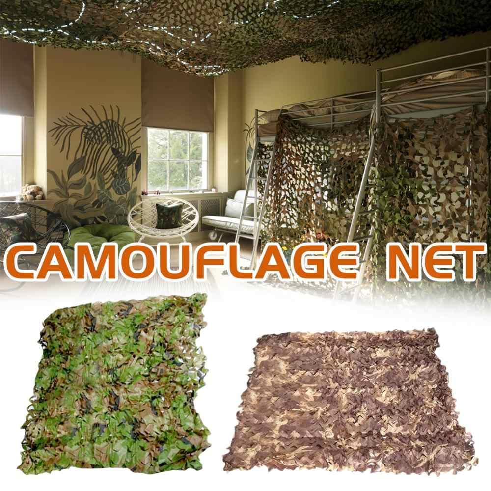 Camouflage Militare Reti Tenda All'ombra di Addestramento Militare di Campeggio Esterna di Caccia Riparo Nascondere di Compensazione Auto Coperture Giardino Decorazione Della Barra