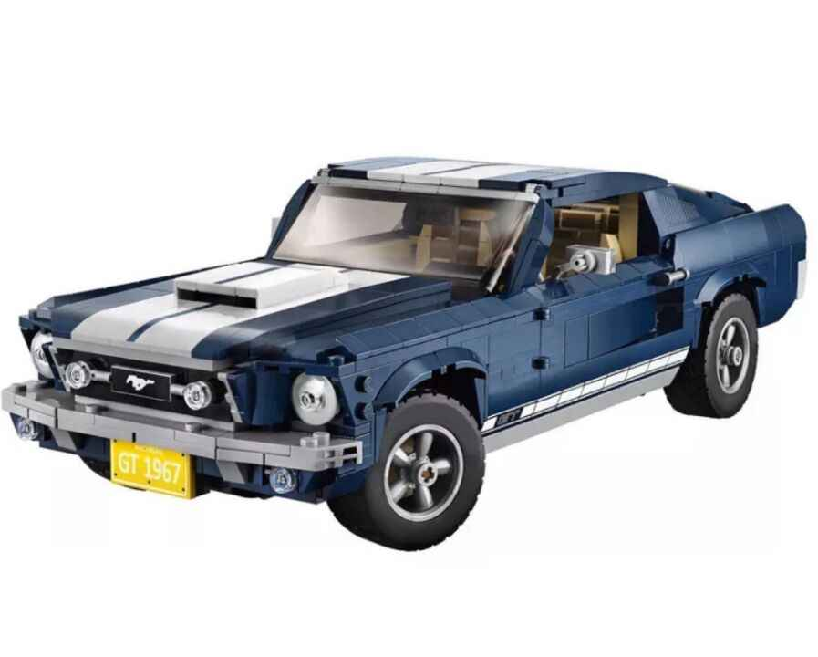 2020 NEW Creator Expert Mustang Compatible Lepining Building Set
