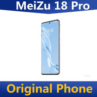 """In Stock Meizu 18 Pro 5G Cell Phone Snapdragon 888 50.0MP 6 Cameras Screen Fingerprint 6.7"""" 120HZ 40W Super Charger 4500mAh 1"""
