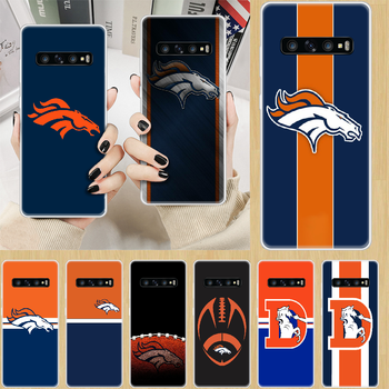 Denver Bronco American Football Phone Case cover hull For SamSung Galaxy S M 6 7 8 9 10 20 30 31 Edge Plus E Lite transparent image