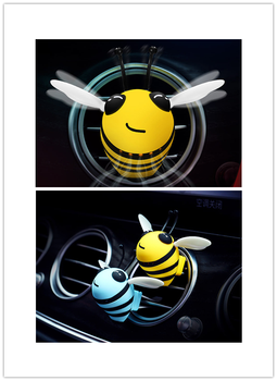 Creative Bees air freshener ventilation outlet interior perfume spray vehicle perfume for Kia Soul Forte5 Cadenza Telluride Pro image