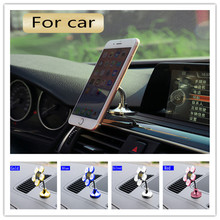 new Sucker Stand Phone Holder 360 degree Rotatable Magic Suction Cup Mobile Phone Holder Car Bracket