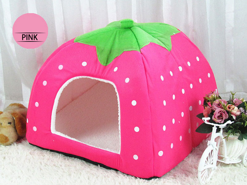 Kennel Dog Bed Animals Pet House Cama Perro Hondenmand Panier Chien Legowisko Dla Psa Foldable for Dogs Cats Kennel 6