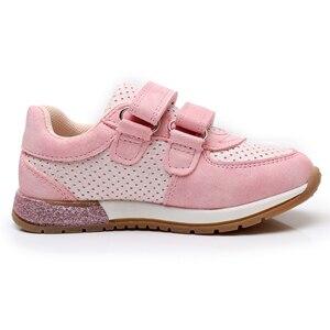 Image 3 - أحذية رياضية للبنات من apakear أحذية جميلة لطيفة للأطفال مصنوعة من جلد البولي يوريثان مُزينة بقلب مُزينة بخطاف وحلقة للأطفال أحذية رياضية للبنات من الاتحاد الأوروبي 22 27