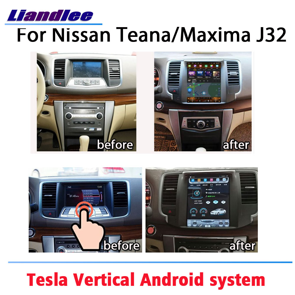 Car Tesla style Multimedia Player For Nissan Teana/Maxima J32 2008~2019 Android Radio Video Screen Stereo GPS Navigation System image