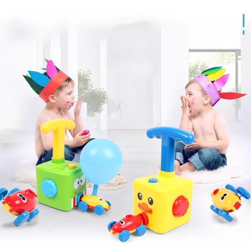 Putere balon lansare turn jucărie puzzle distracție educație - Vehicule de jucărie - Fotografie 3