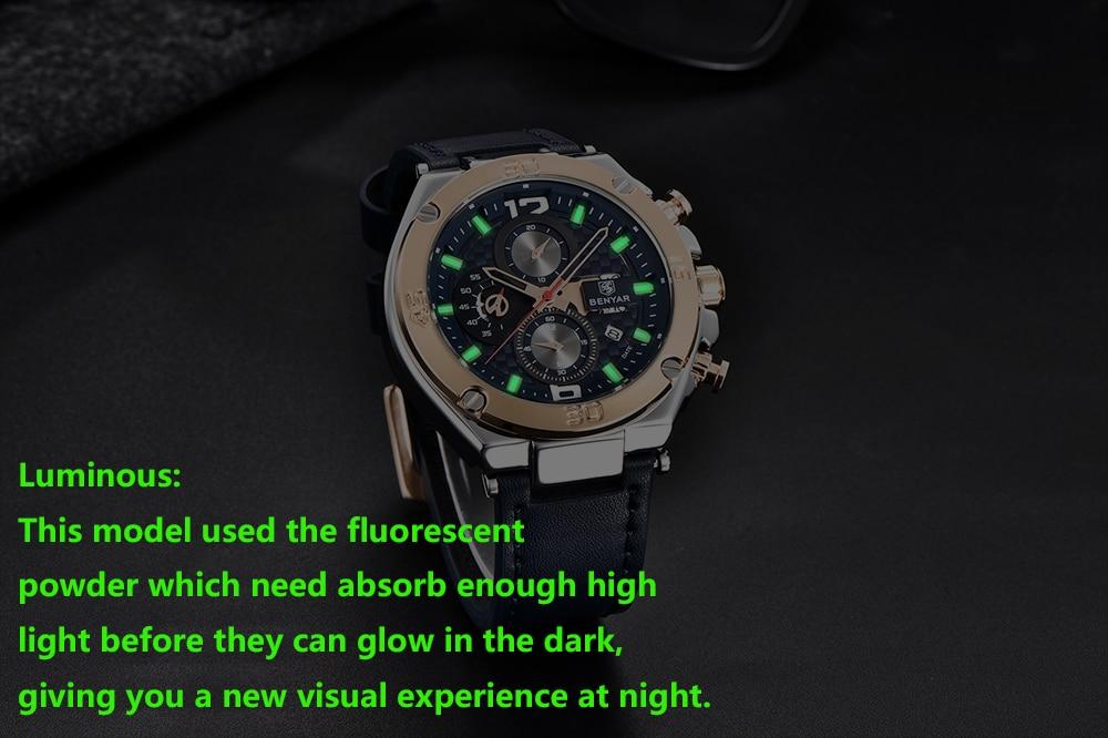 homens multifunções esporte cronógrafo relógio masculino topo