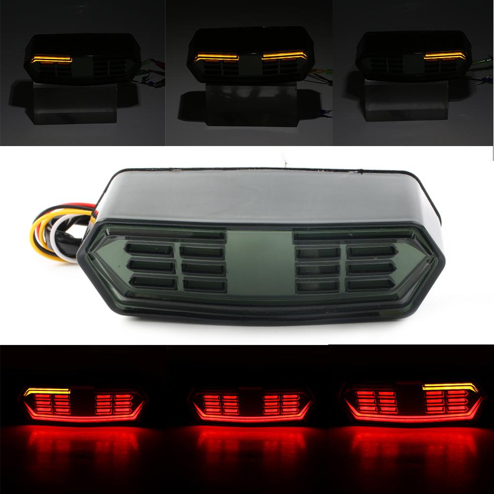 LED Brake TailLight Integrated Turn Signal Light For Honda Grom 125 MSX125 CB650F CBR650F CTX700 CTX700N 2014 2015 16 2017 2018