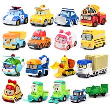 Certyfikat CE Robocar dzieci Anime zabawki Korea Robot Poli Roy Haley Anime Metal figurka zabawka z kreskówki samochód dla dzieci prezent tanie tanio Silverlit CN (pochodzenie) 3 lat Inne Diecast 2018012204078166 ROBOCAR POLI-1 1 55 Do not eat Wyroby gotowe