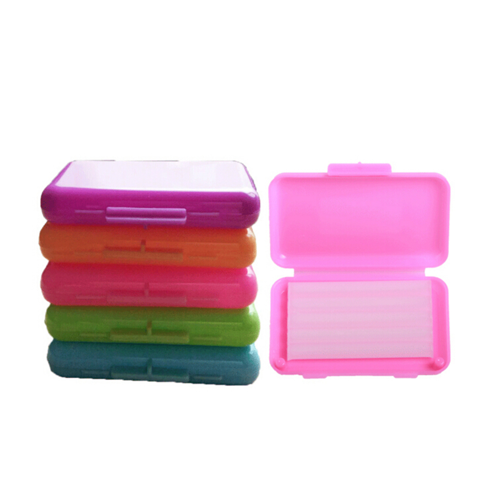 5 Pcs/pack Random Oral Care Products Dental Orthodontics Ortho Wax Fruit Scent For Brace Bracket Gum Irritation