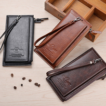 Luxury Male Leather Clutch…