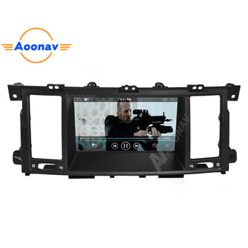 AOONAV Car radio tape recorder head unit multimedia player For Infiniti QX80 2013-2017 car autoradio stereo GPS navigation image