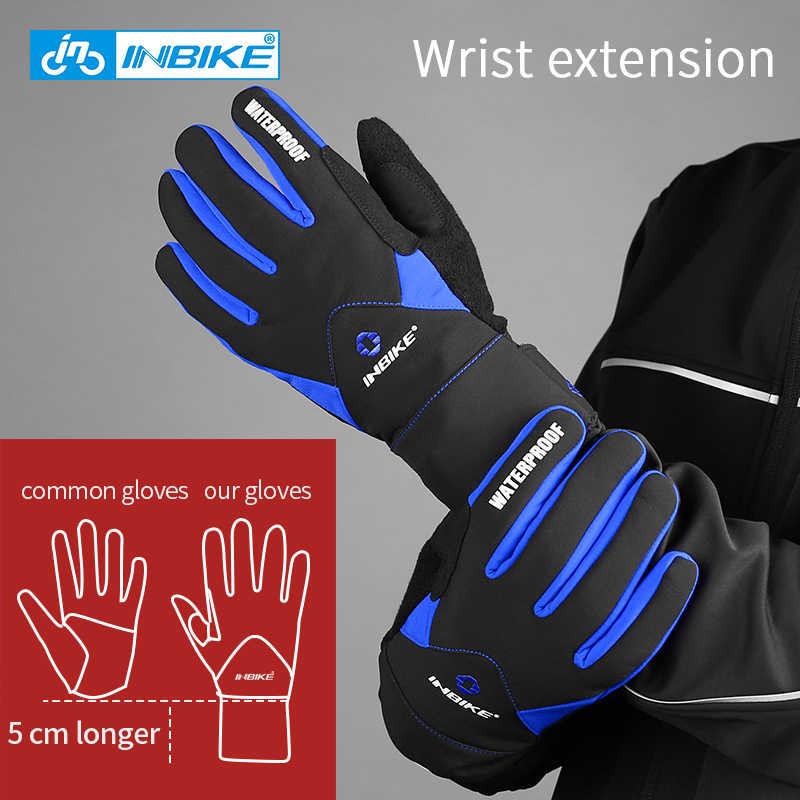 Gel Full Finger Gloves Winter Outdoor Sport Cycling Gloves Waterproof  Gloves