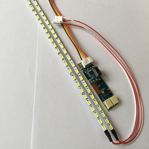 Kit de tira de LED para iluminación trasera Universal de 8W CC 10-30V 533mm, Monitor LCD CCFL de 15 ~ 24 ''a LED de brillo de luz ajustable
