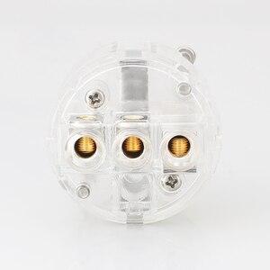 Image 4 - Viborg VE503R + VF503R 99.99% Đồng Nguyên Chất Trong Suốt Mạ Rhodium Schuko EU Âm Thanh Hifi Cáp Extenstion Adapter Cắm