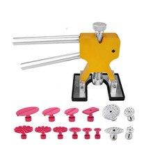 FURUIX PDR herramientas de reparación de abolladuras de coche herramientas de eliminación de abolladuras PDR Kit de elevación de abolladuras juego de herramientas de mano para el cuidado del coche