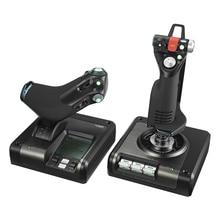 X52 PROFESSIONAL HOTAS Logitech part matal throttle and stick simulation countroller