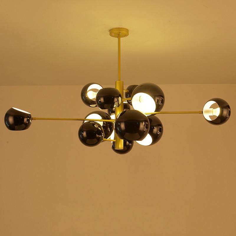 Modern Luminaria Deco Chambre Crystal LED  Pendant Lights  Home Decoration E27 Light Fixture Hanglamp Luminaire