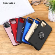 Smart Phone Cases Für Samsung A30 Auto Ring Rüstung Galaxy A20 M20S A80 M20S M20 M40 A30S A40 M30S M30 a40S A60 M10 A90 Protector(China)