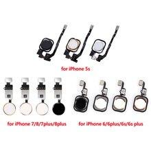 Для iphone 5s 6 6s 6plus plus 7 7plus 8 8plus кнопка основного