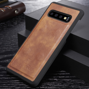 Image 3 - Genuine Shockproof Removable Wallet Case For Samsung S10 S9 S8 Plus Flip Leather Cover S10e Note8 Note9 S7 edge Business Coque