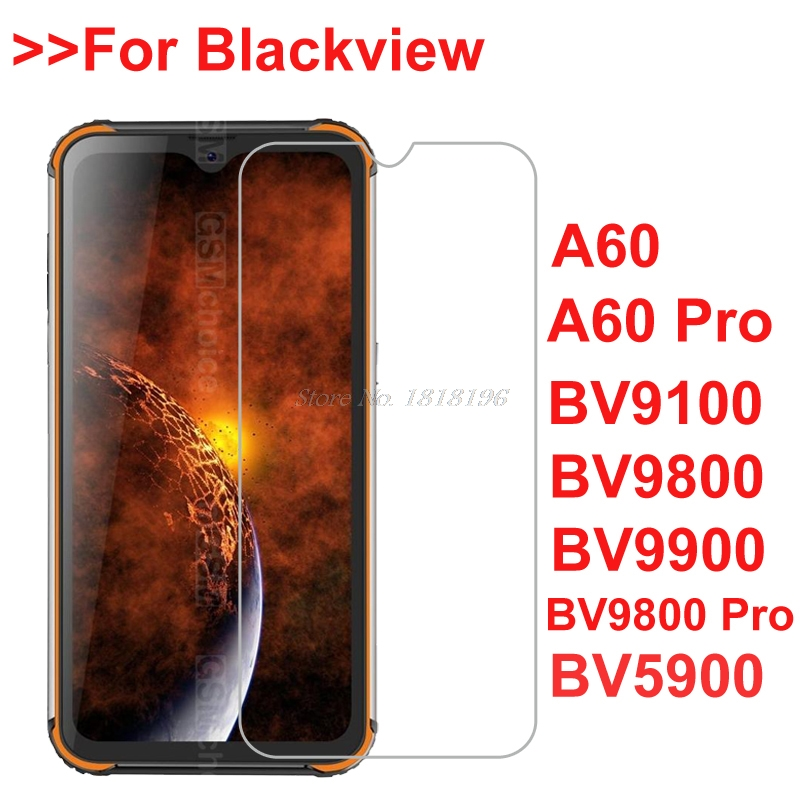2PCS For Blackview BV9800 Pro A60 Pro Tempered Glass Screen Protector Film For Blackview BV9900 BV9100 A80 Pro Screen Glass Film